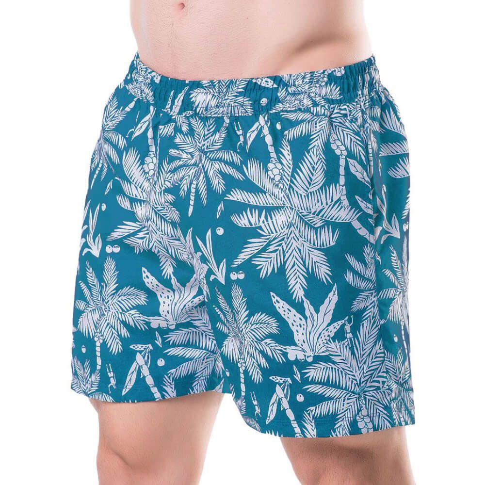 Shorts Masculino Palmeira Piscina