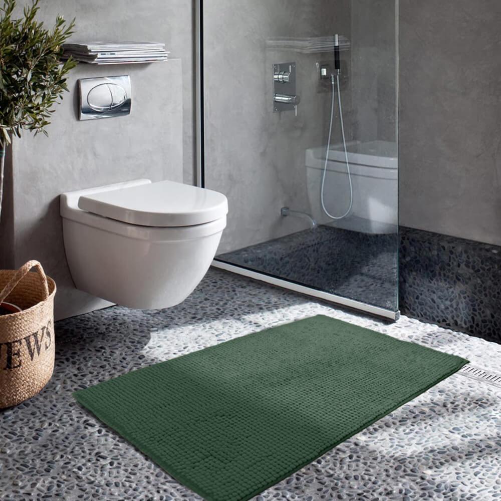 Tapete de Banheiro Dedinho Verde