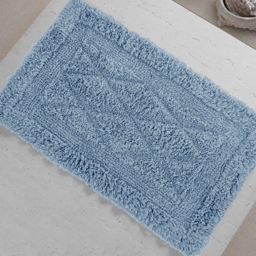 Tapete de Banheiro México Azul