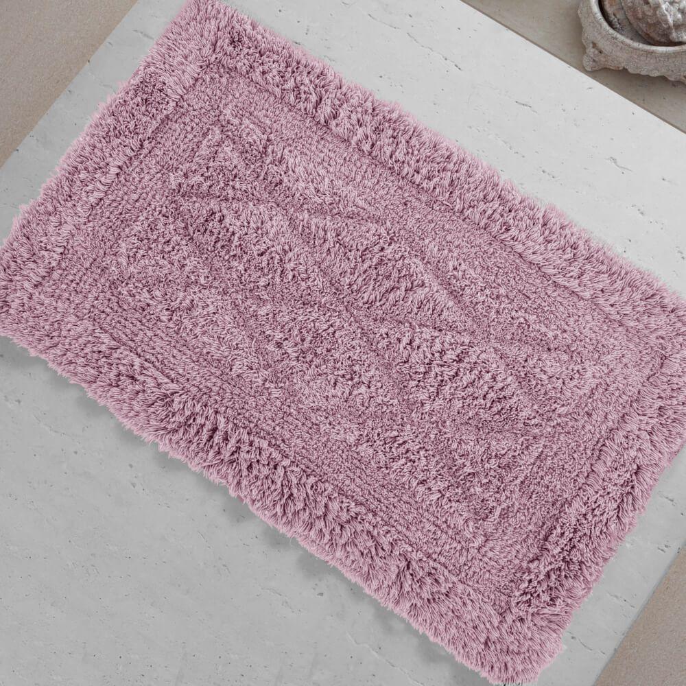 Tapete de Banheiro México Rosa