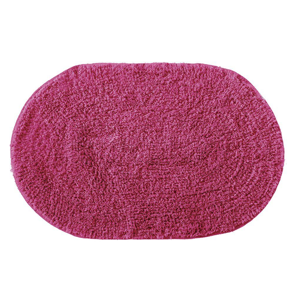 Tapete de Banheiro Oval Victoria Pink