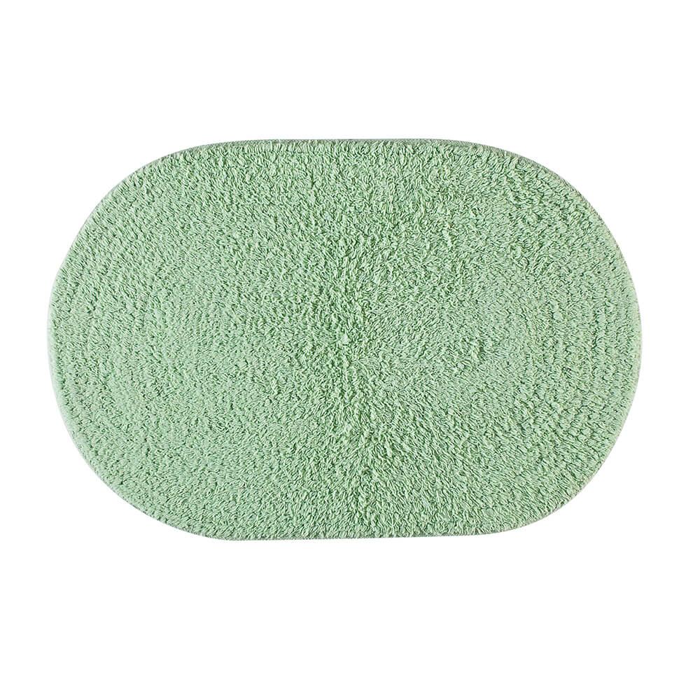 Tapete de Banheiro Oval Victoria Verde