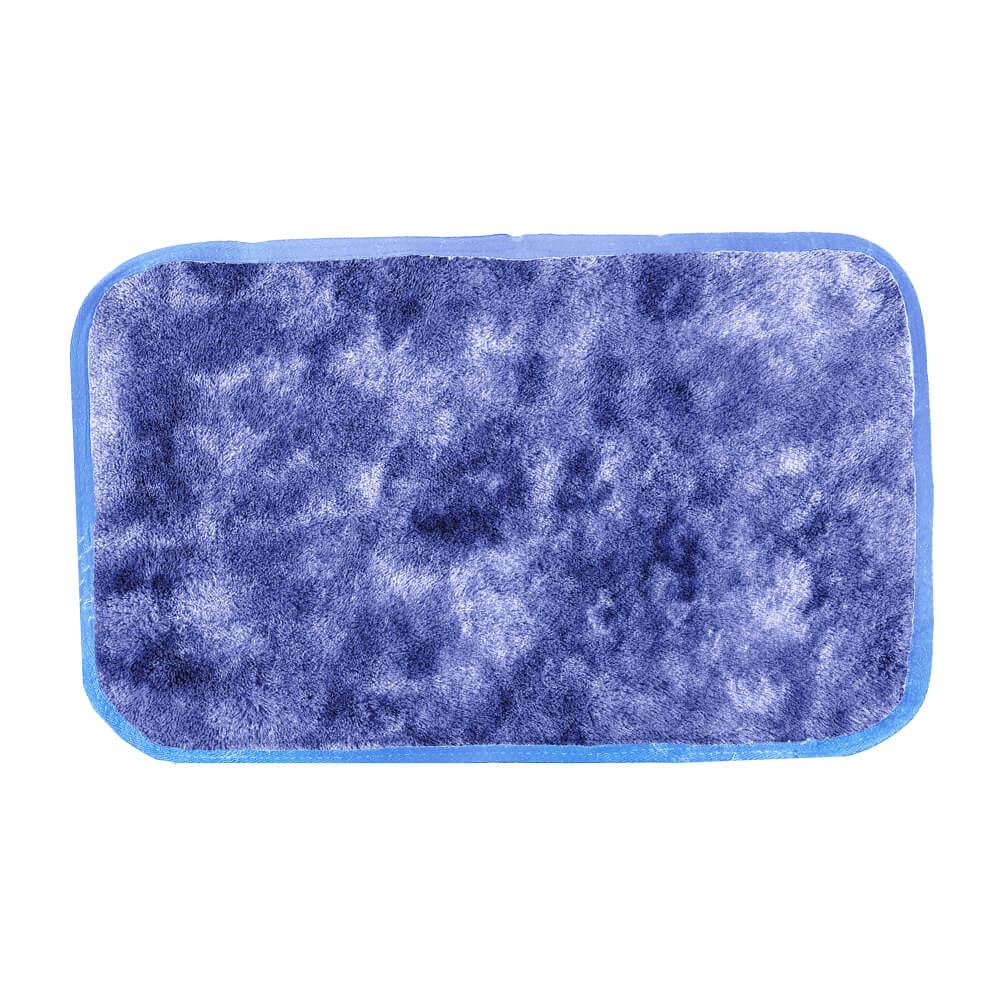 Tapete de Quarto Moscou 40 cm x 60 cm Azul Mescla