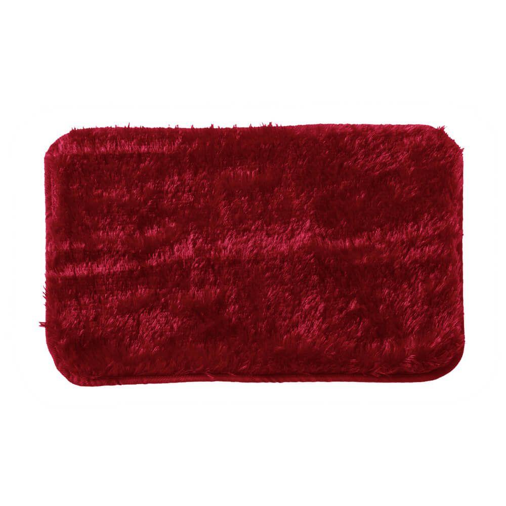 Tapete de Quarto Moscou 40 cm x 60 cm Vermelho