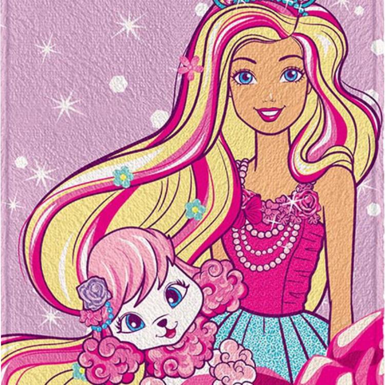 Toalha de Banho Infantil Barbie Pet