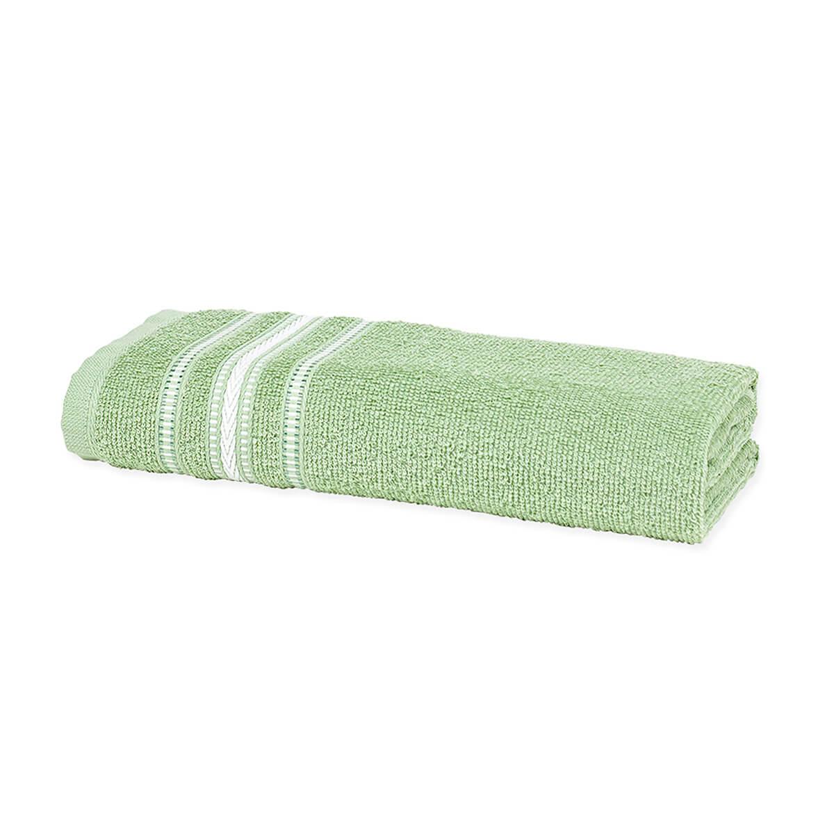 Toalha de Banho Enxuta Aquarela Verde