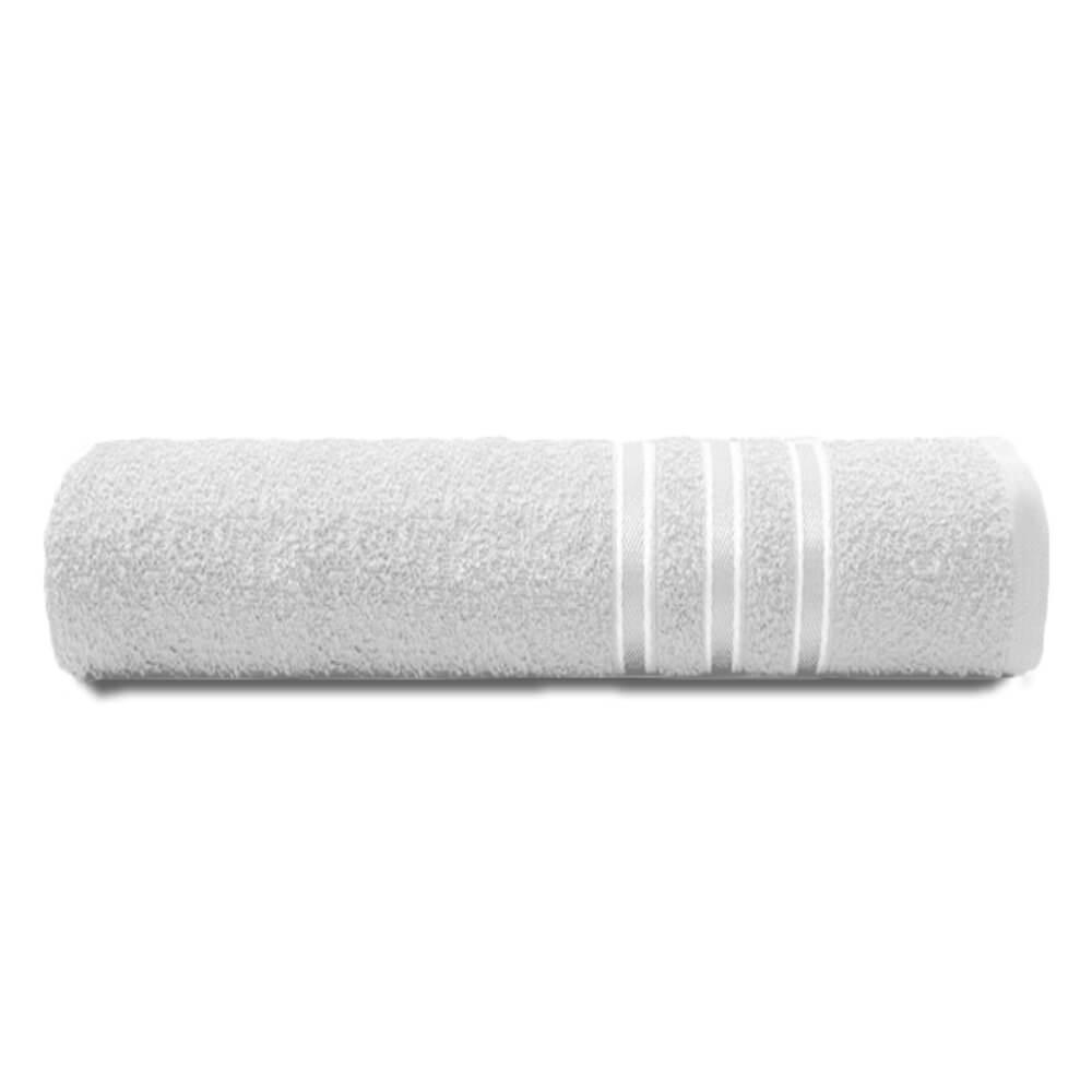 Toalha de Banho Festiva Branca