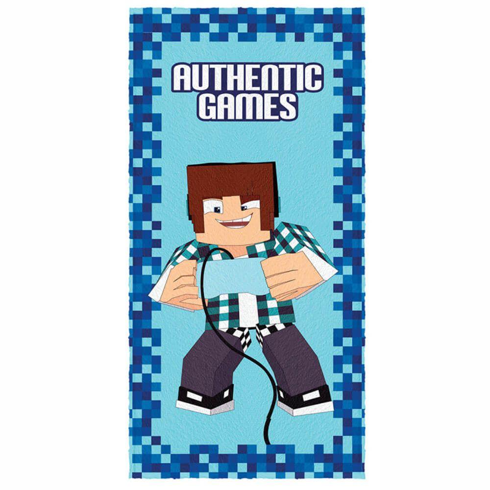 Toalha de Banho Infantil Authentic Games Console