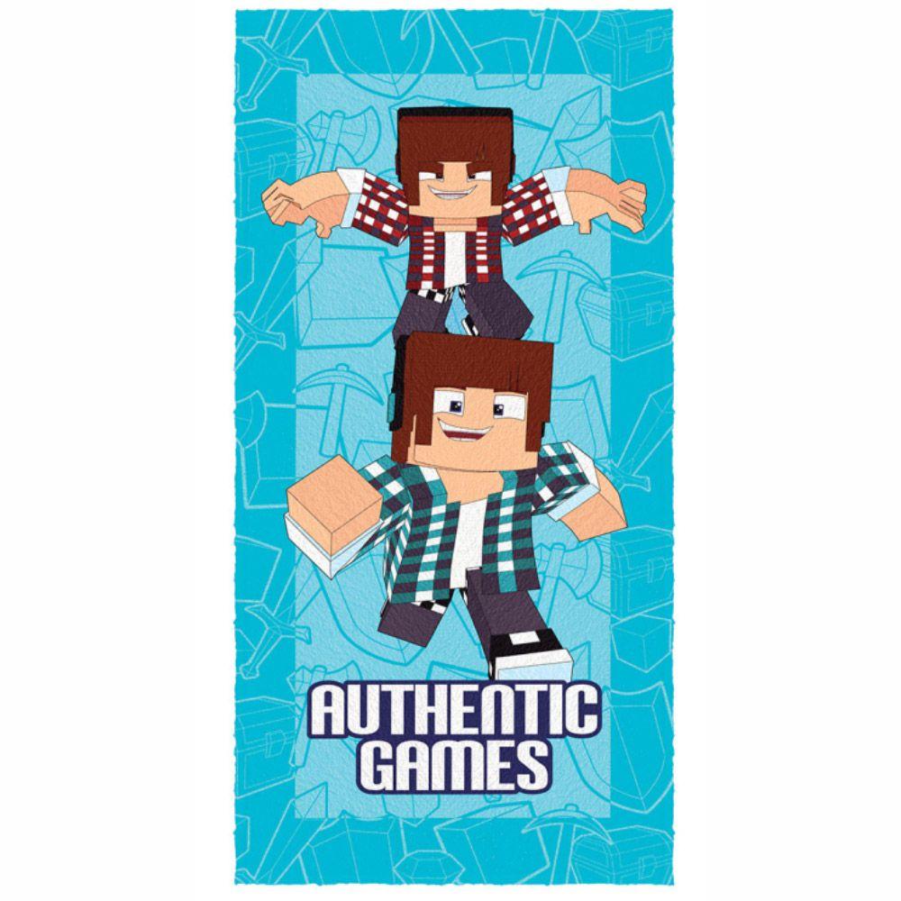 Toalha de Banho Infantil Authentic Games Double