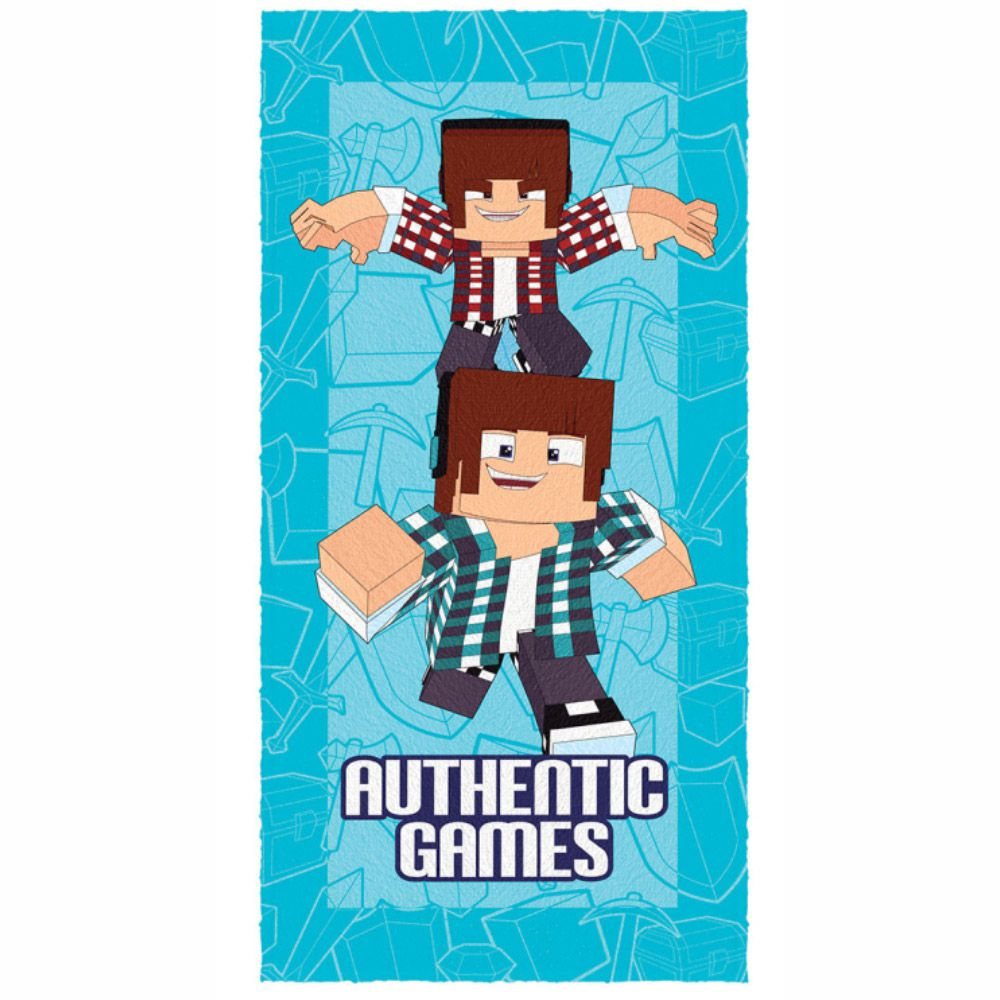 Toalha de Banho Infantil Authentic Games Dupla