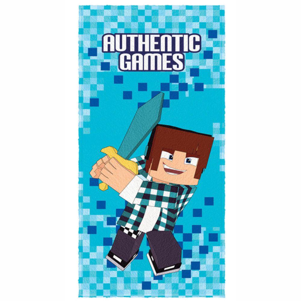 Toalha de Banho Infantil Authentic Games Sword