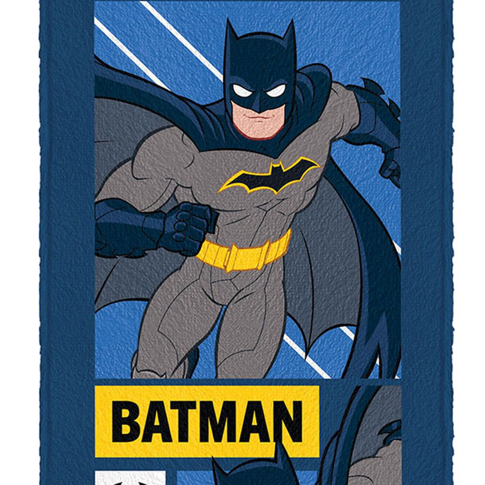Toalha de Banho Infantil Batman Batmóvel