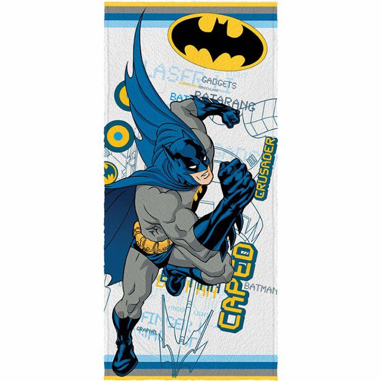 Toalha de Banho Infantil Batman Crusader