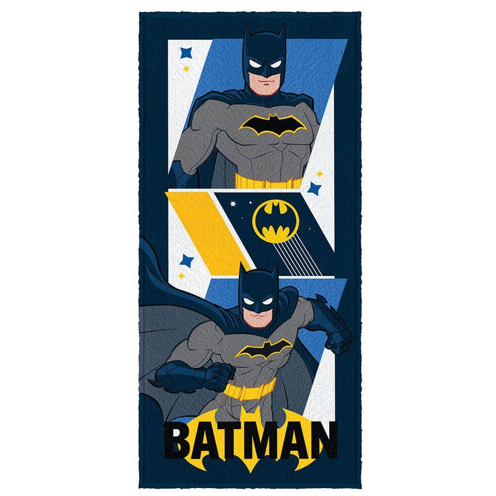 Toalha de Banho Infantil Batman Dupla