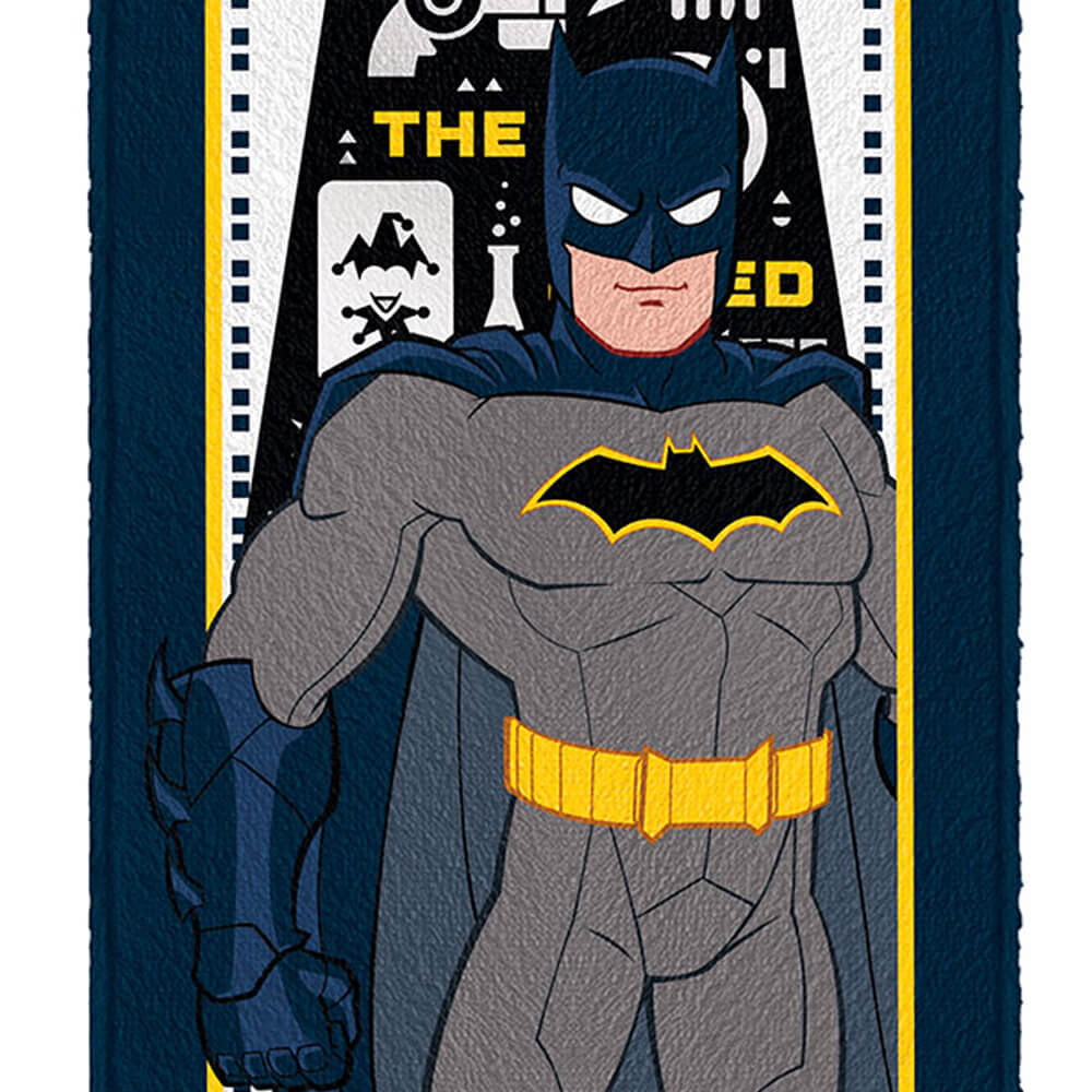 Toalha de Banho Infantil Batman Gotham