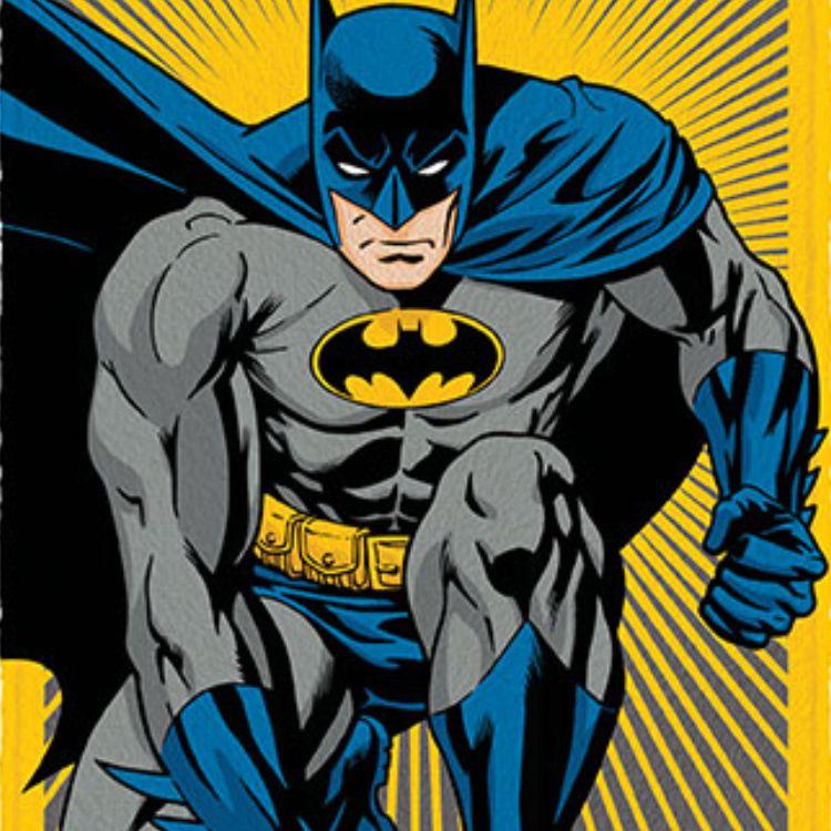 Toalha de Banho Infantil Felpuda Batman Dark Knight