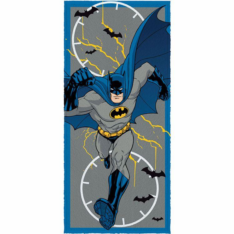 Toalha de Banho Infantil Felpuda Batman Thunder Light