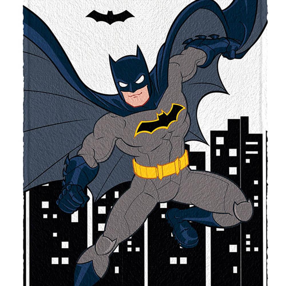 Toalha de Banho Infantil Batman Morcego
