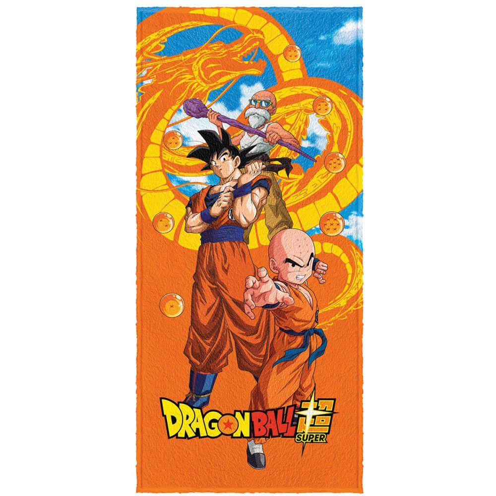 Toalha de Banho Infantil Dragon Ball DBZ