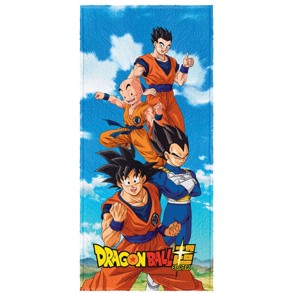 Toalha de Banho Infantil Felpuda Dragon Ball Super
