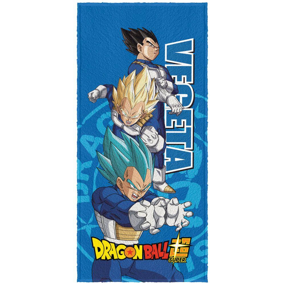 Toalha de Banho Infantil Felpuda Dragon Ball Vegeta