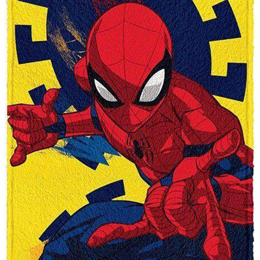 Toalha de Banho Infantil Homem Aranha Web