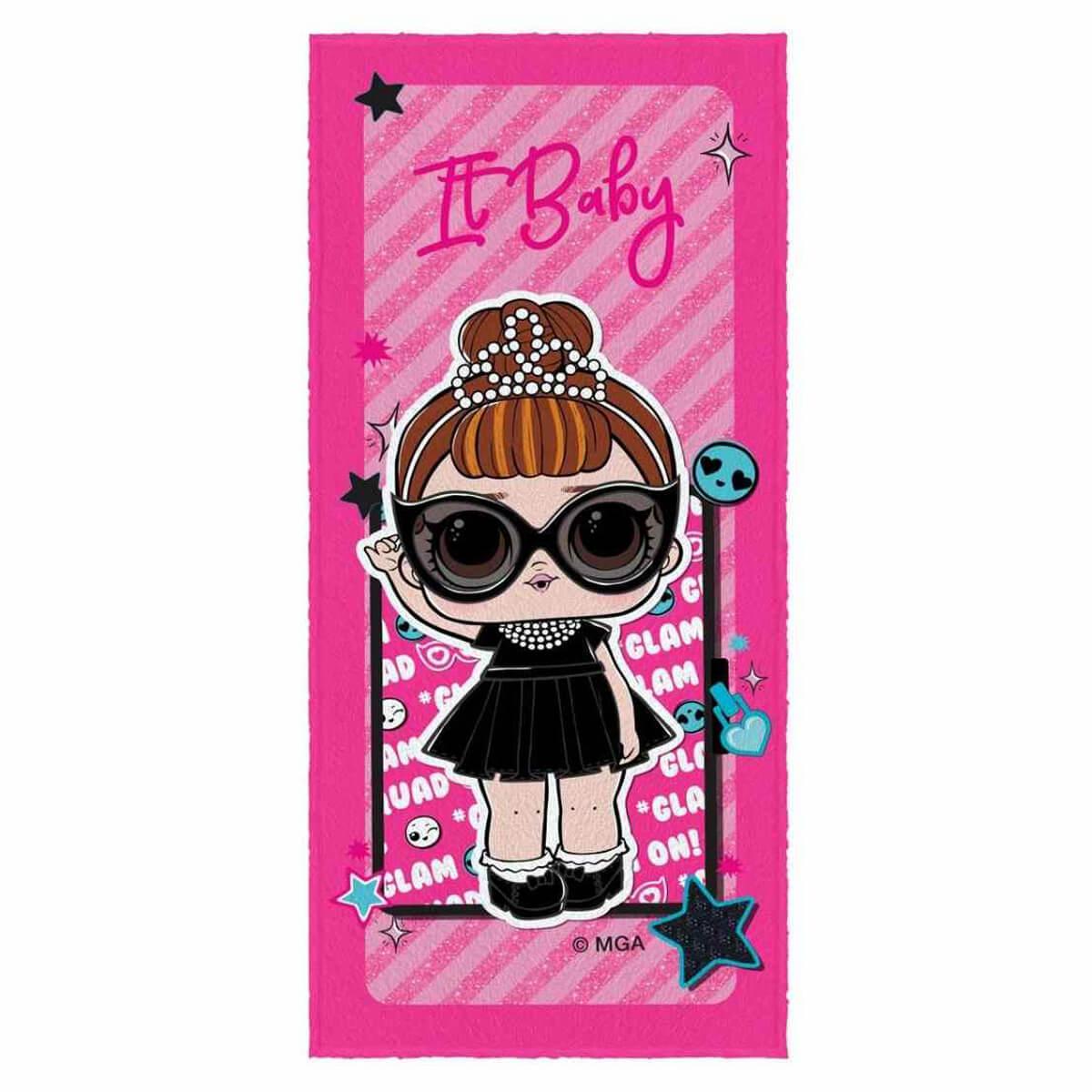 Toalha de Banho Infantil Felpuda LOL Its Baby