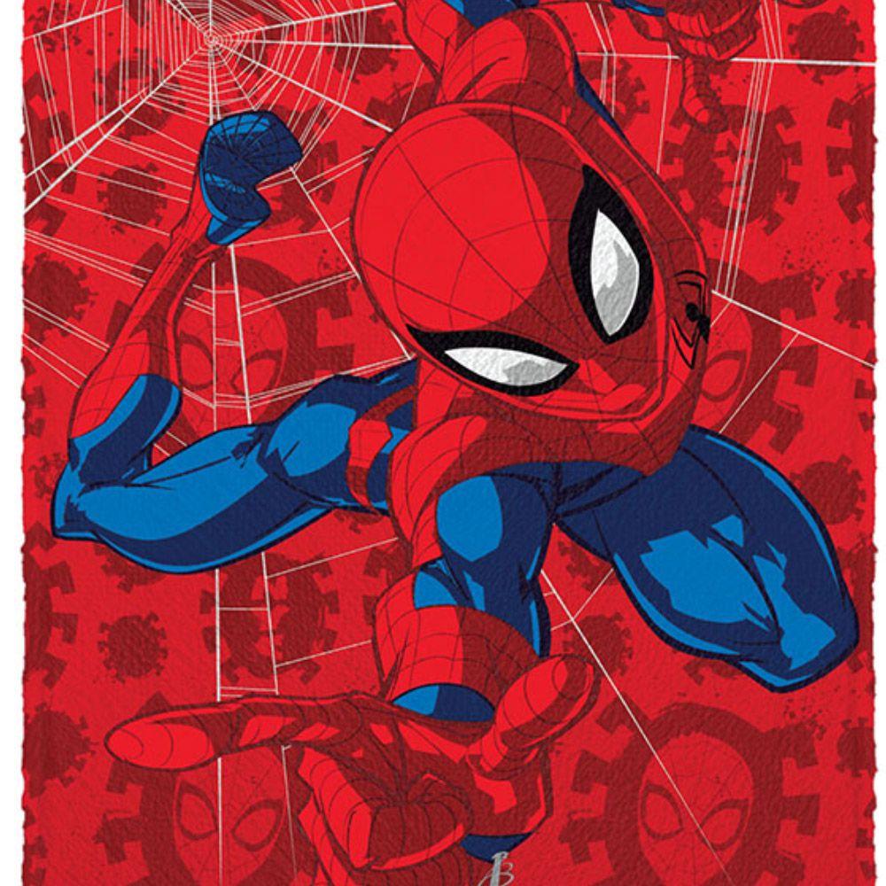 Toalha de Banho Infantil Homem Aranha Spider
