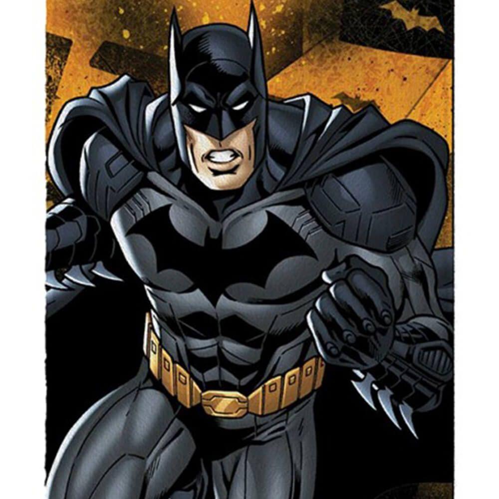 Toalha de Banho Infantil Liga da Justiça Batman