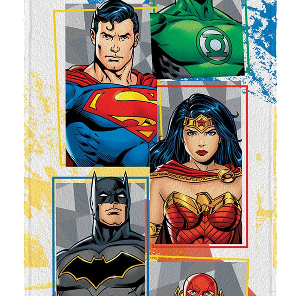Toalha de Banho Infantil Liga da Justiça Comic