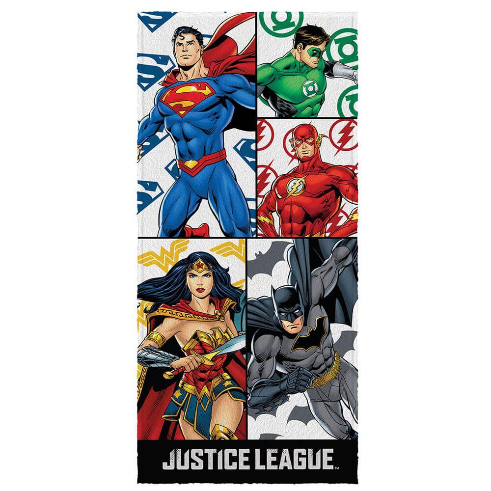 Toalha de Banho Infantil Liga da Justiça Origem