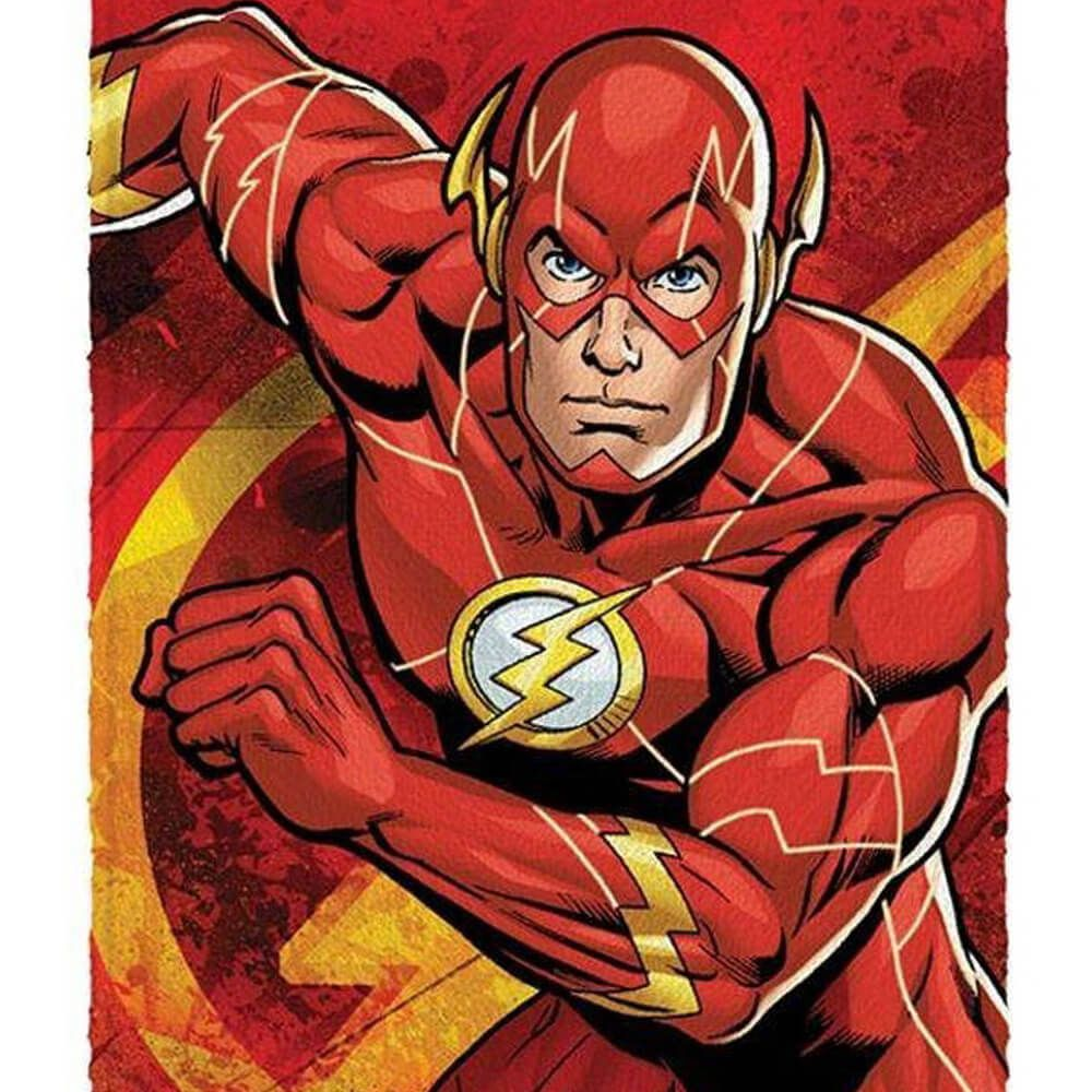Toalha de Banho Infantil Liga da Justiça The Flash