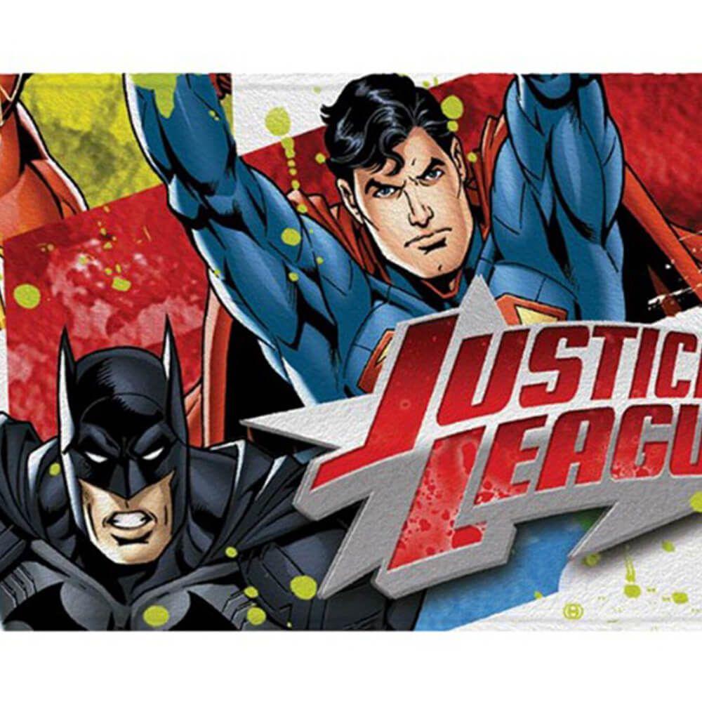 Toalha de Banho Infantil Liga da Justiça Trio