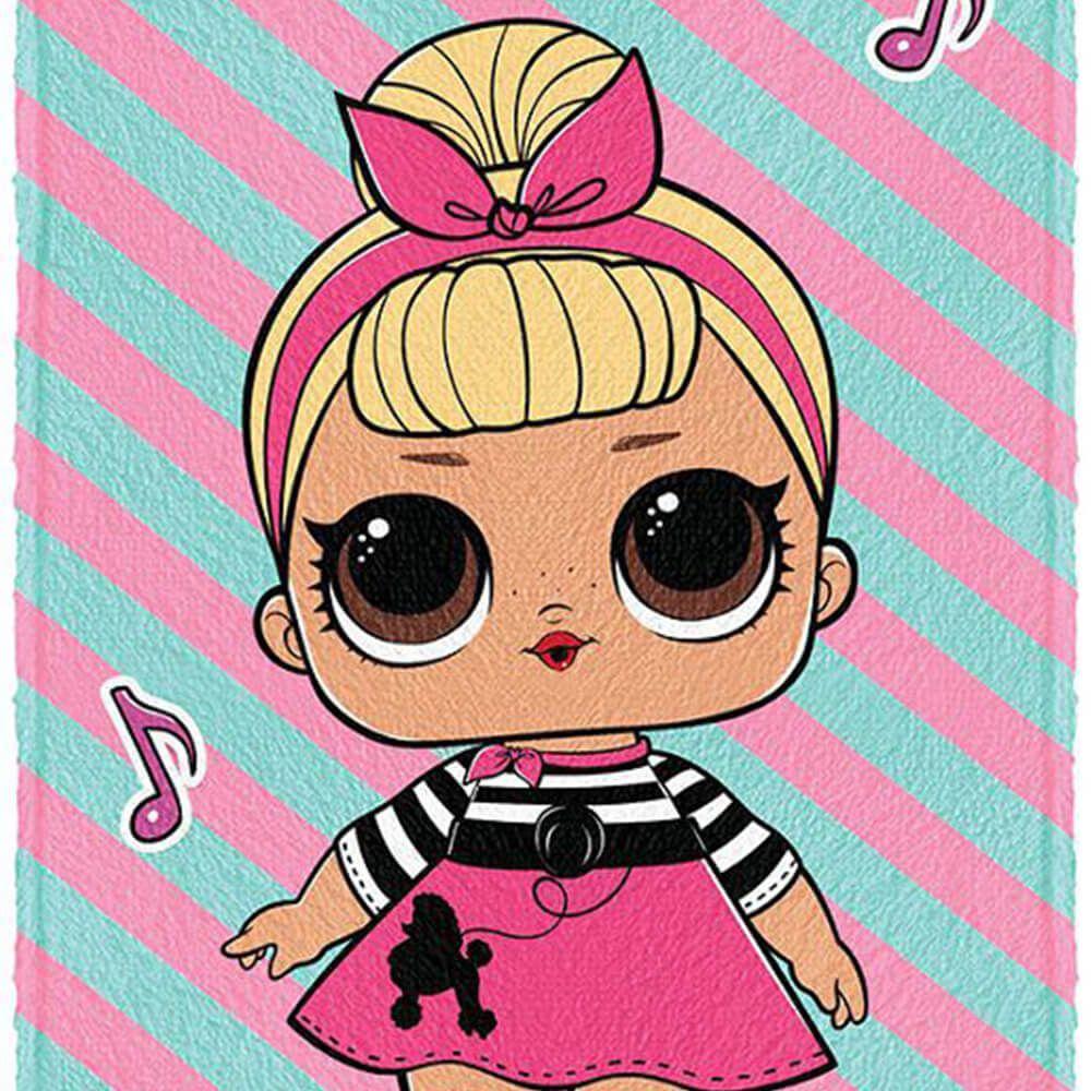 Toalha de Banho Infantil LOL Dance