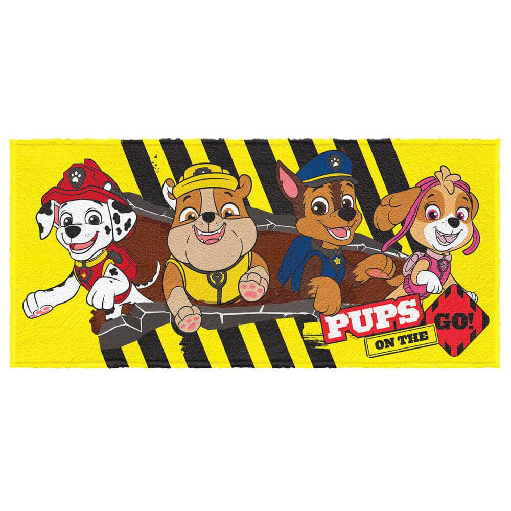 Toalha de Banho Infantil Patrulha Canina Pups Turma