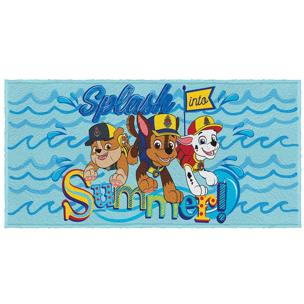 Toalha de Banho Infantil Patrulha Canina Splash