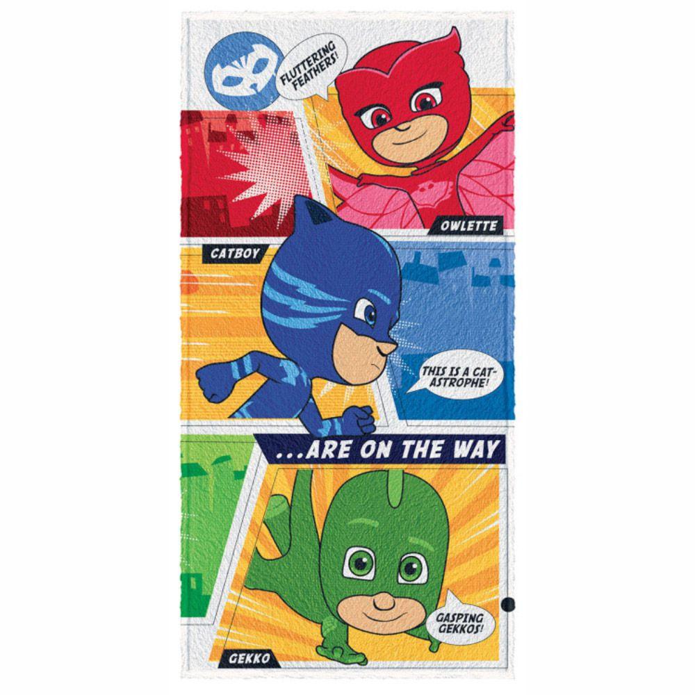 Toalha de Banho Infantil PJ Masks Colors