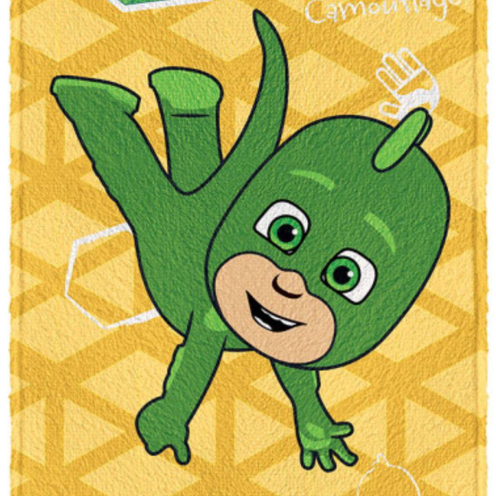 Toalha de Banho Infantil PJ Masks Lagartixo