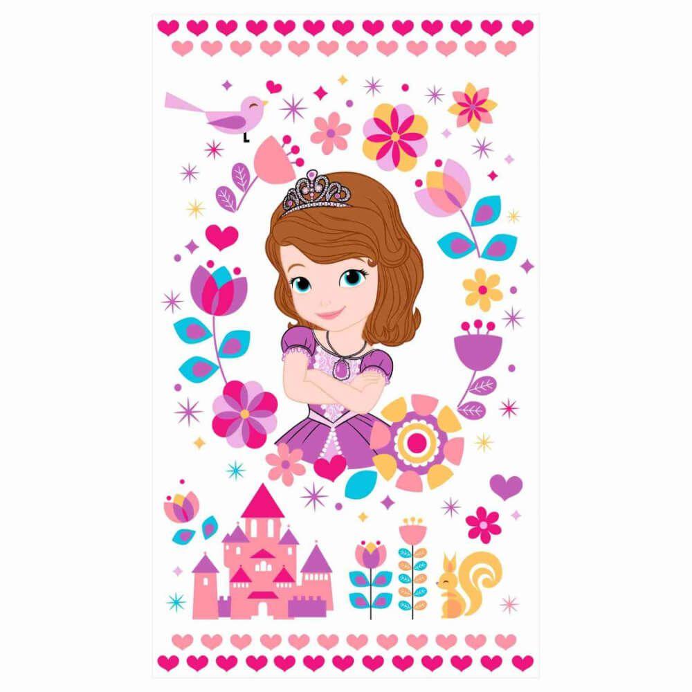 Toalha de Banho Infantil Sofie Heart