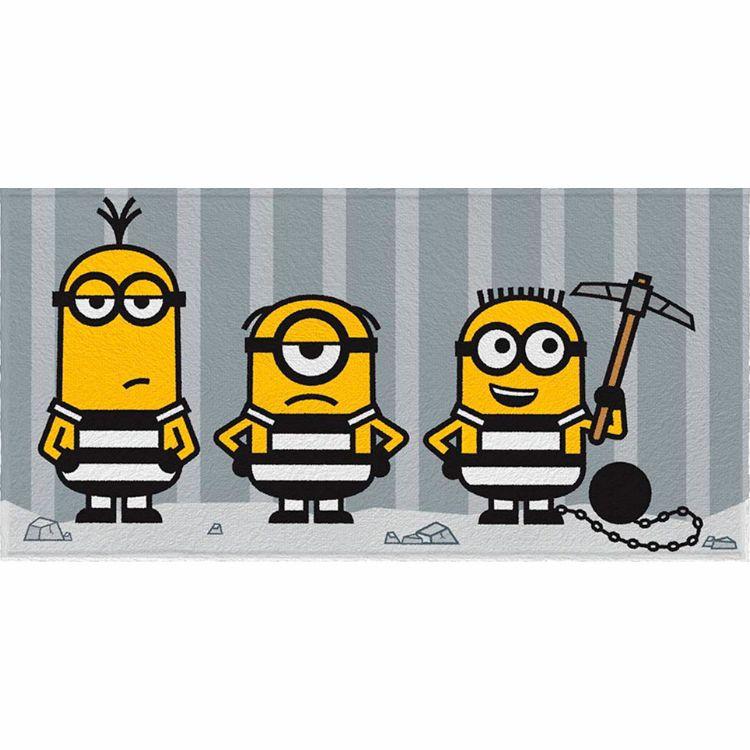Toalha de Banho Minions Felpuda Infantil Trio