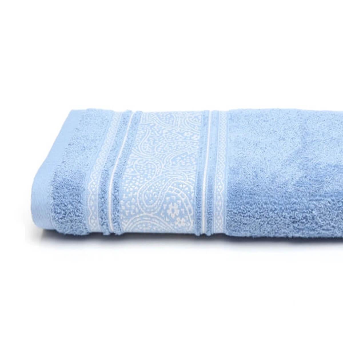 Toalha de Banho Platinum Pérsia Azul