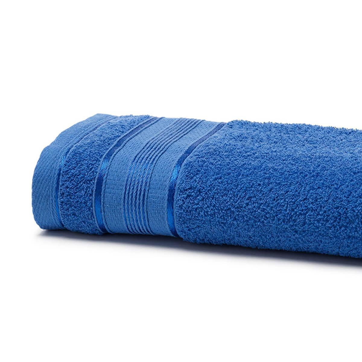 Toalha de Banho Felpuda Royal Knut Azul