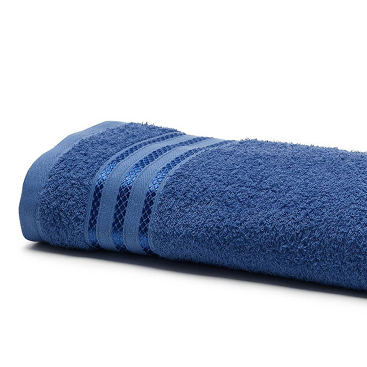Toalha de Banho Felpuda Royal Patter Azul