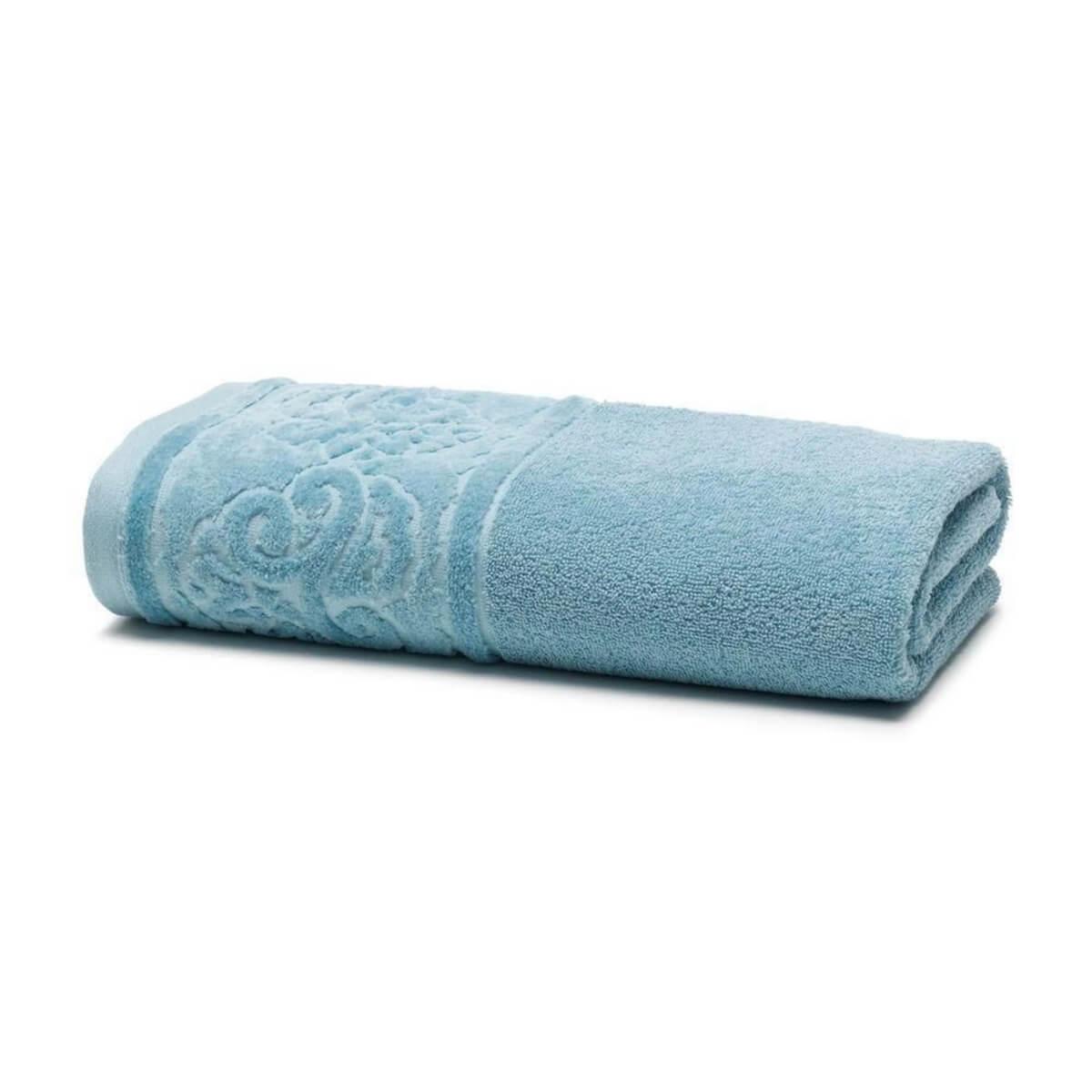 Toalha de Banho Unique Kami Azul Claro