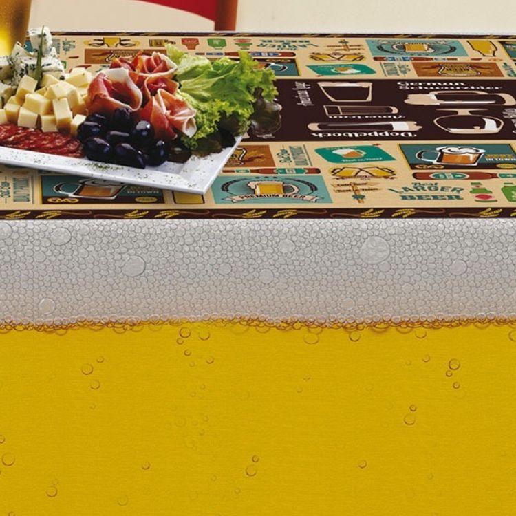 Toalha de Mesa Quadrada Gourmet