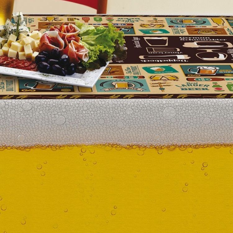 Toalha de Mesa Retangular Gourmet