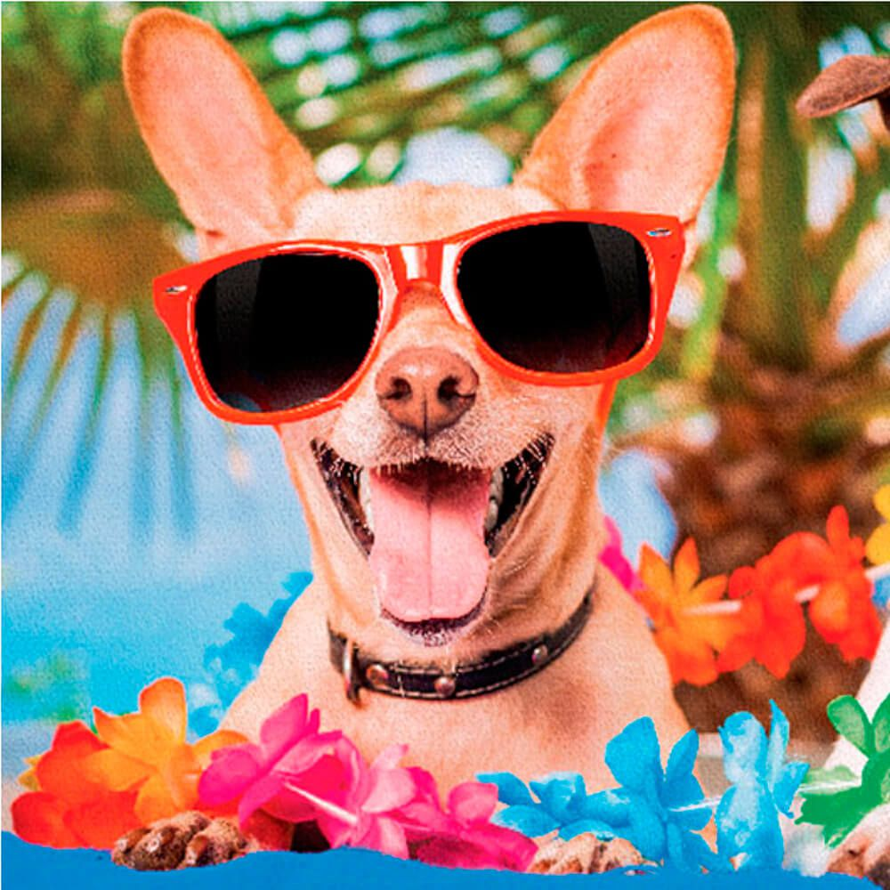 Toalha de Praia Summer Dog