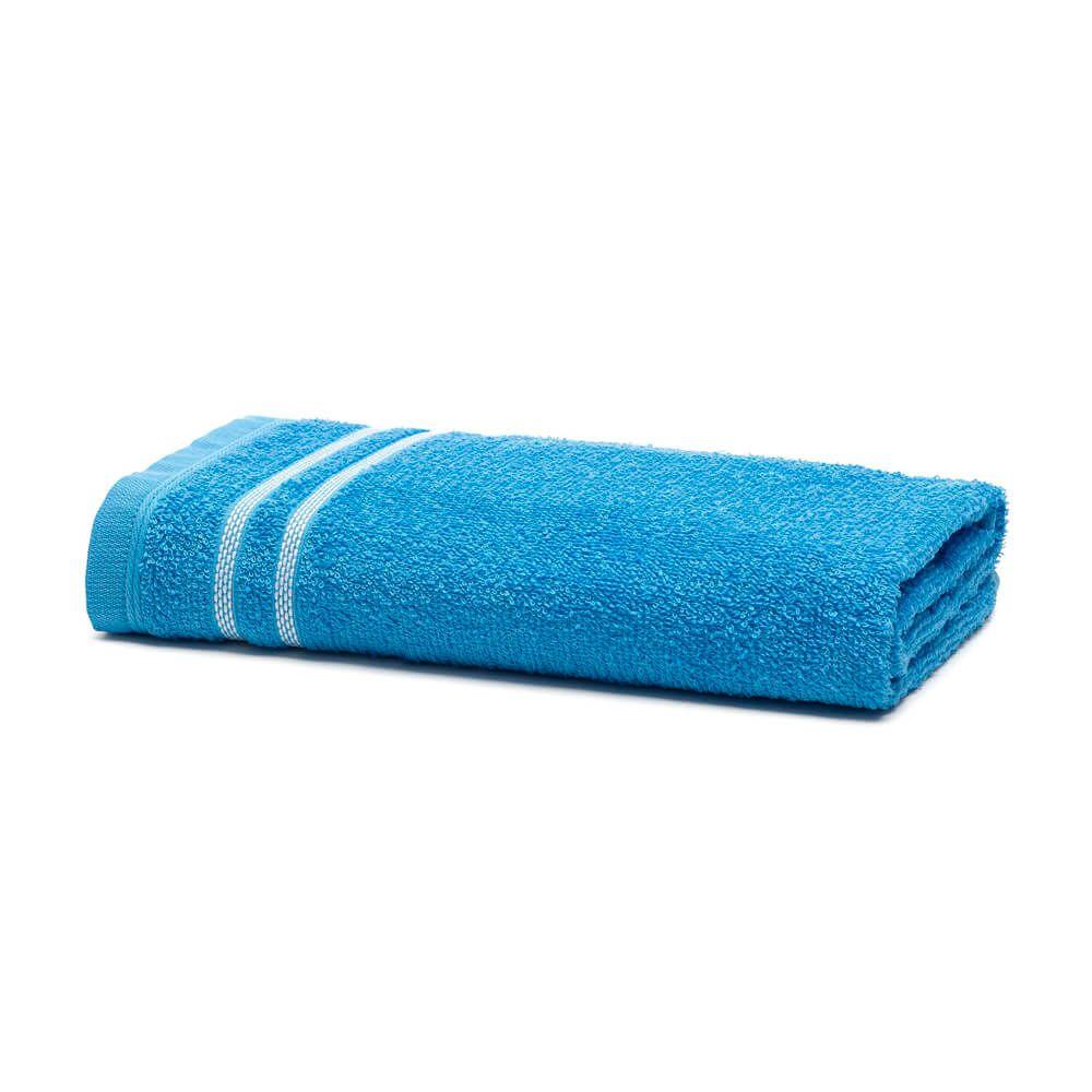 Toalha de Rosto Enxuta Tina Azul