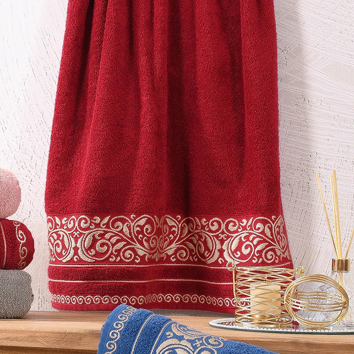 Toalha de Rosto Felpuda Passione Vermelha