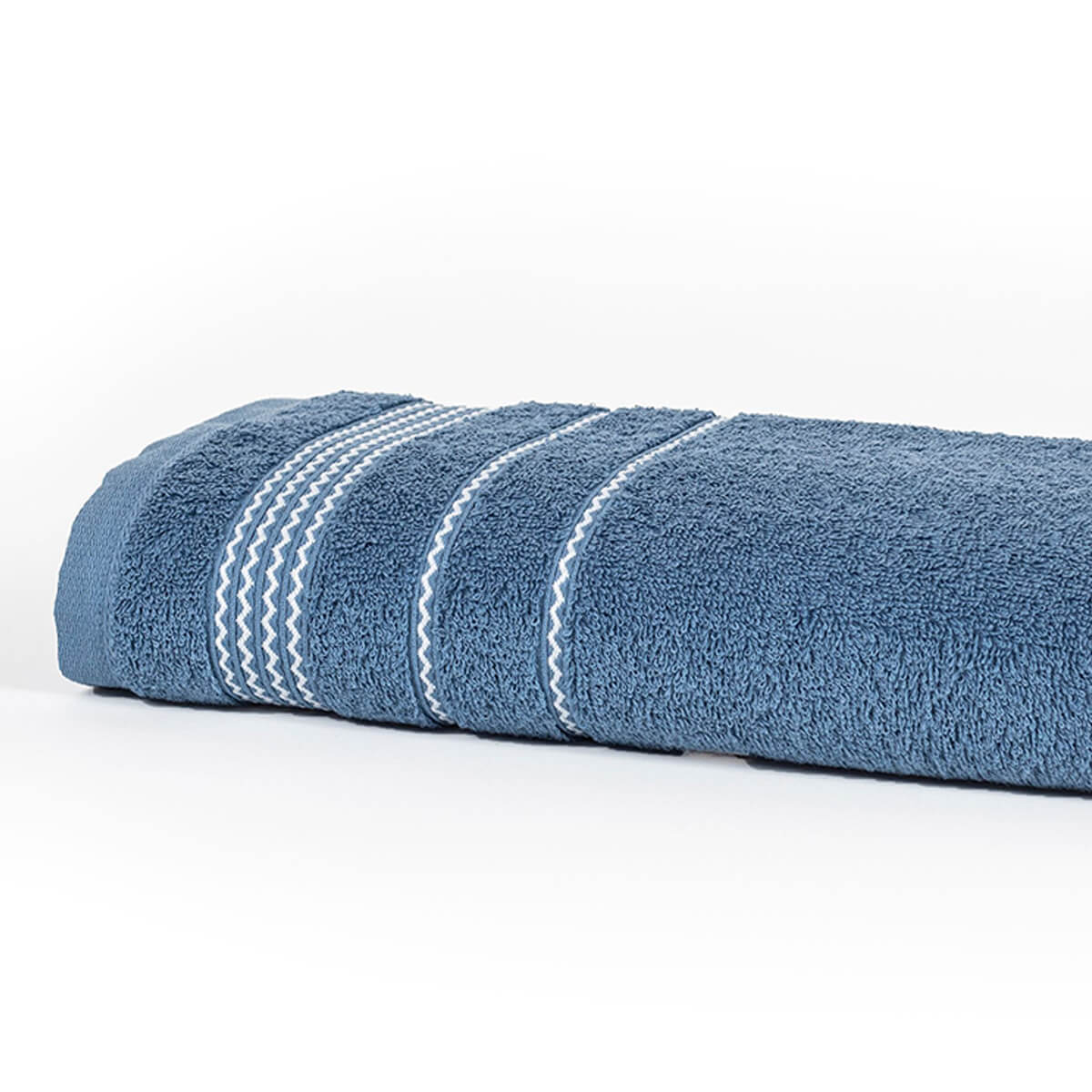 Toalha de Rosto Home Design Chevron Azul